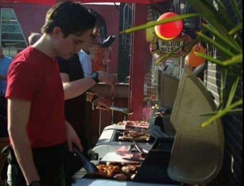BBQ feest